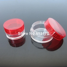 Free shipping 10g ml 1 3oz empty cream jar cosmetic skin care packing jars medicine container