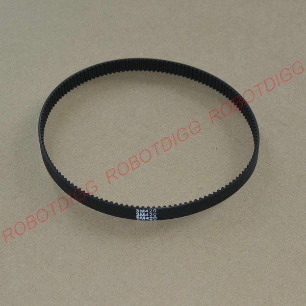 HTD 3M, Timing Belt, Closed-loop, 420mm length, 140 teeth, 9mm width