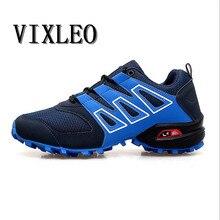 VIXLEO Topsell 2018 남성 3 캐주얼 슈즈 솔로몬 편안한 통기성 블랙 블루 그레이 신발 사이즈 39-46 Speedcros
