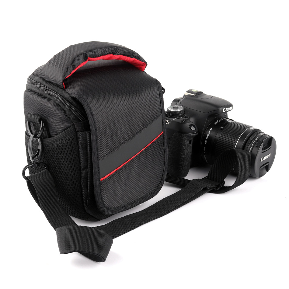 Camera Bag For <font><b>Canon</b></font> EOS SX60HS SX710HS SX700HS SX600 SX520HS SX275HS SX400IS <font><b>SX540HS</b></font> SX530HS SX430IS SX410 SX610HS SX420 SX70HS image