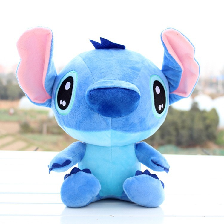 Lovely New 18cm Lilo och Stitch Plush Doll Leksaker Kawaii Stitch Mjuka Fyllda Djur Plush Doll Barn Leksaker Presenter