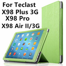 Case PU Protective Leather For Teclast X98 Air 3G X98 Air II X98 Pro P98 3G Octa core P98 4G 9.7inch Tablet PC Protector Covers