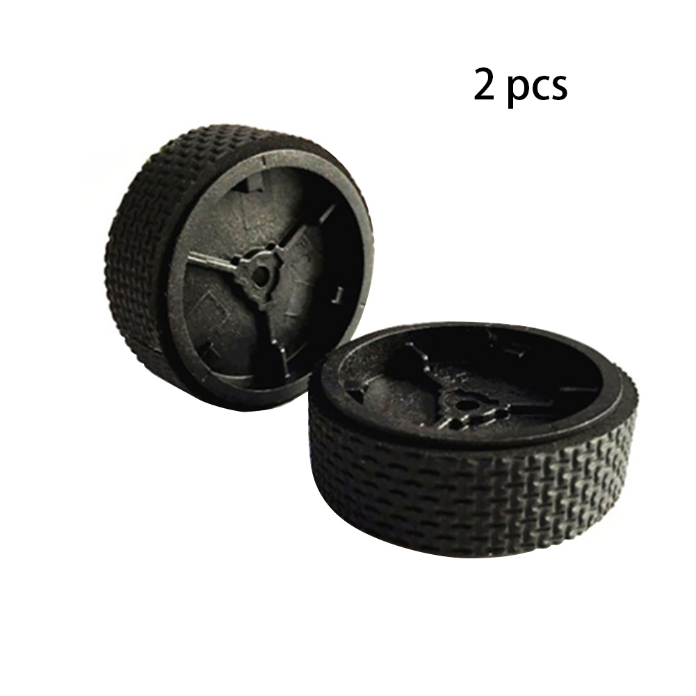 2PCS Accessories Mopping Robot Mini Replacement Tire Supplies Home Durable Parts Caster Wheel Tool Rubber For IRobot Braava 380
