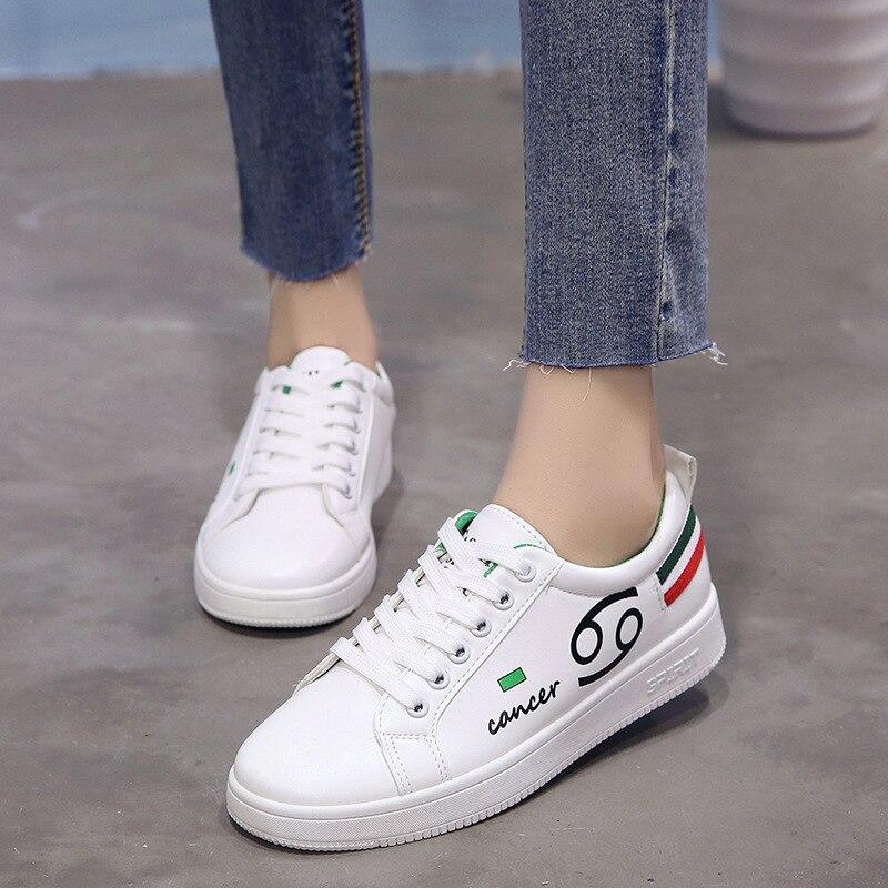 2018 sommer Neue Muster Belüftung Student Tuch Schuh Joker Kleine Weiße Schuhe Flachen Boden Women'sALEX