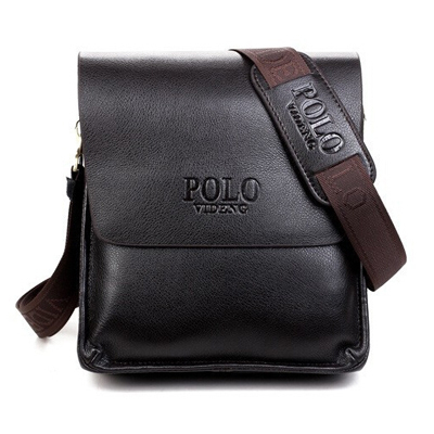 ФОТО Famous Brand Classic Design Casual Business Leather Men's Genuine Bags Promotional Leisure High Quality Messenger Shoulder Bag