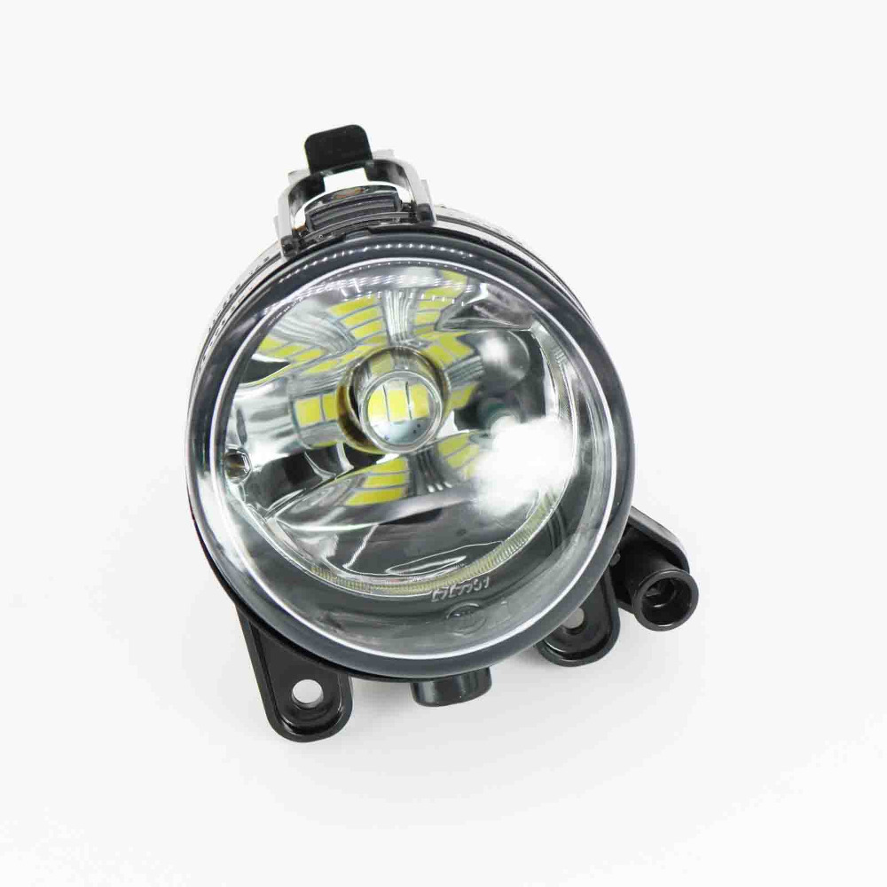 Car LED Light For VW Golf 5 Golf MK5 2004 2005 2006 2007 2008 2009 Left Side Front LED Fog Light Fog Lamp With LED Bulbs for vw golf 5 2004 2005 2006 2007 2008 2009 high quality 9 led left side front fog lamp fog light