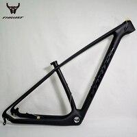 Углерода горные велосипеды Рамки 29er напора китайский углерода MTB Велосипедные рамы T1000 углеродного волокна велосипед Рамки 29er углерода Рам