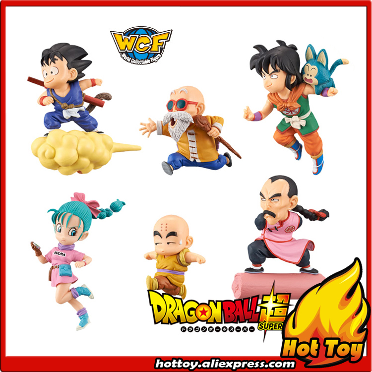 100% Original Banpresto World Collectable Figure / WCF The Historical Characters - Full Set of 6 Pieces from Dragon Ball dragon ball super z wcf world collectable figure battle of saiyans vol 7 full set 100% original