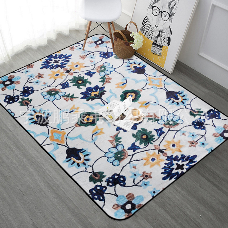 Blume Farbe Serie Große Bereich Teppiche Für Wohnzimmer Große Größe Teppiche Schlafzimmer Arbeitszimmer Bodenmatte Teppich Haushalts Weichen Teppich Auf Dem Internationalen Markt Hohes Ansehen GenießEn
