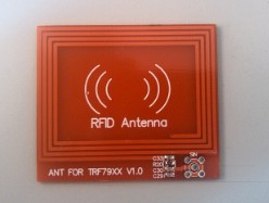High Gain 13.56 M Read RFID Antenna PCB Card Reader Matching Simulation Agency Over A Long Distance