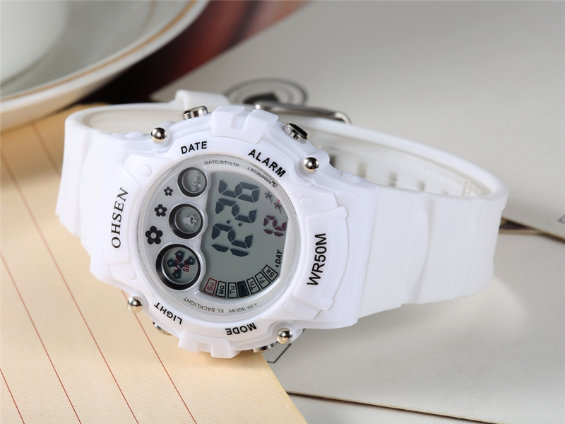 New Ohsen Unisex Watch Fashion Casual Watches Relogio Masculino Students Sports For Men Women Water Resistant Alarm Wristwatches (27)