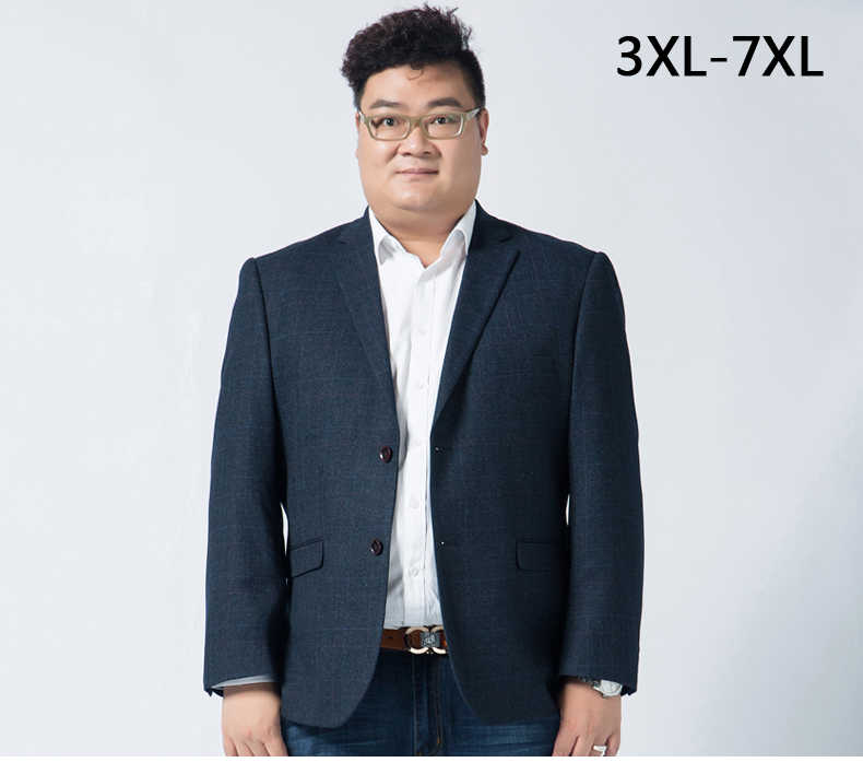 d0662f31250 Mens Suit extra large Blazer Dress jacket High Qualtiy Fashion Men very big  blazer autumn winter