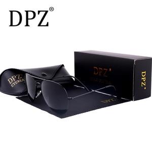 Image 3 - Женские и мужские градиентные стеклянные линзы DPZ, Зеркальные Солнцезащитные очки 58 мм 3025 G15 Gafas hot rayeds, брендовые солнцезащитные очки es UV400, 2020