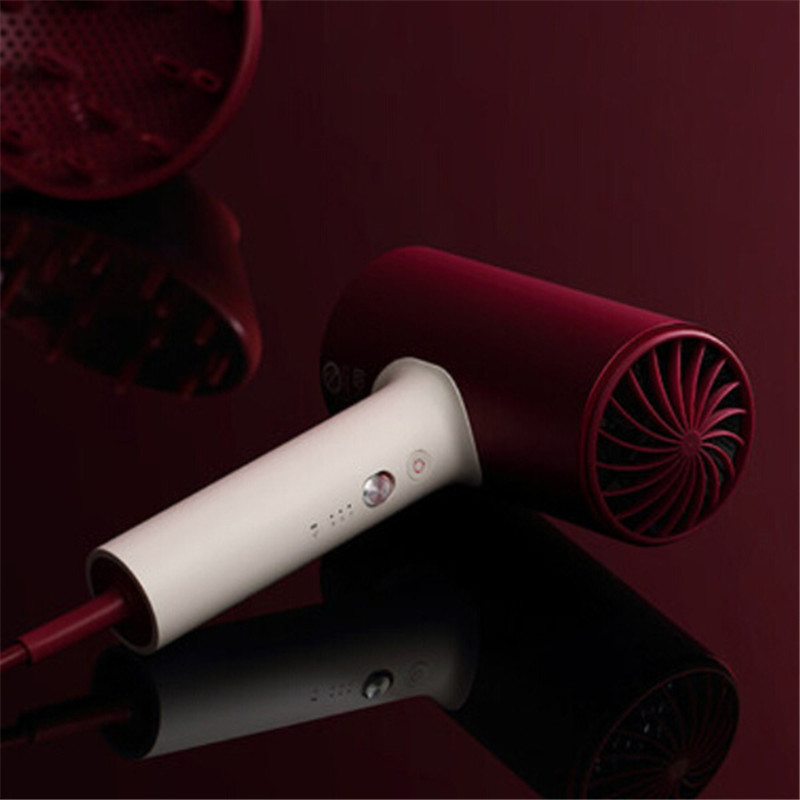 Image 3 - 2018 New Xiaomi Soocare Soocas H3S Anion Hair Dryer Aluminum Alloy Body 1800W Air Outlet Anti Hot Innovative Diversion Design-in Hair Dryers from Home Appliances