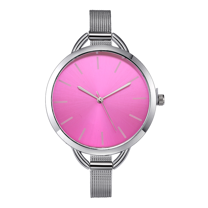 Top Luxury European Style Lady Watch Elegant Big Dial Quartz Super Slim Stainless Steel Bracelet Watch Women's Wrist Reloj Mujer HTB1n 2newjN8KJjSZFkq6yboXXat