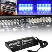 16 LED Wysokiej Intensywności Ścigania Awaryjne Światła Stroboskopowe Ostrzeżenie Dla Wnętrza Dachu/Dash/Wycieraczki Z Przyssawkami