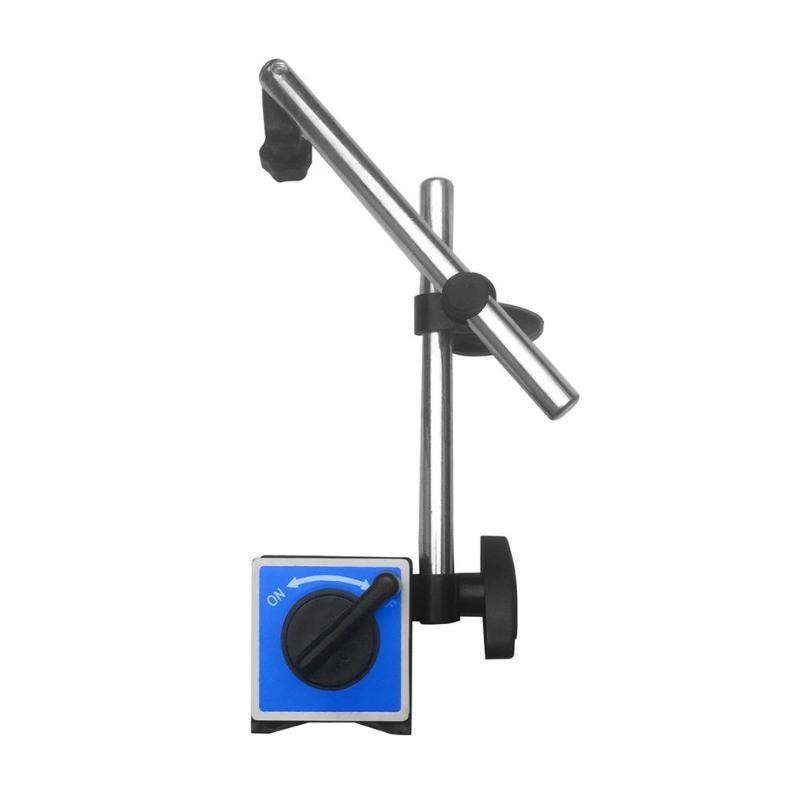Soporte magnético para digital dial indicador medidor 3 articulaciones completo ajustable Dial gauge base magnética soporte holde