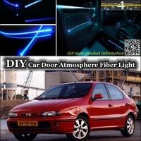 interior Ambient Light Tuning Atmosphere Fiber Optic Band Lights For Fiat Brava / Bravissimo / Bravo Door Panel illumination
