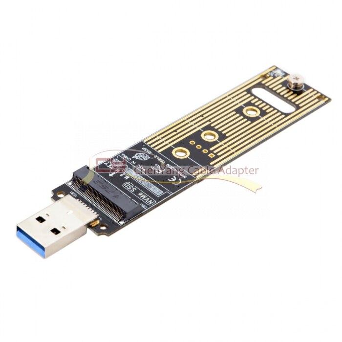 をサイの USB 3.0 に Nvme M キー M.2 NGFF SSD 外部 PCBA 最速アダプタカードフラッシュディスクタイプ  グループ上の パソコン & オフィス からの パソコン ケーブル & コネクタ の中 1