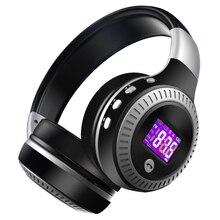 ZEALOT B19 Bluetooth Auricolare Senza Fili Della Cuffia Sopra Lorecchio FM Radio Micro SD Card MP3 Gioco Con Microfono