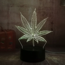 Buy 3d leaves lamp and get free shipping on AliExpress com