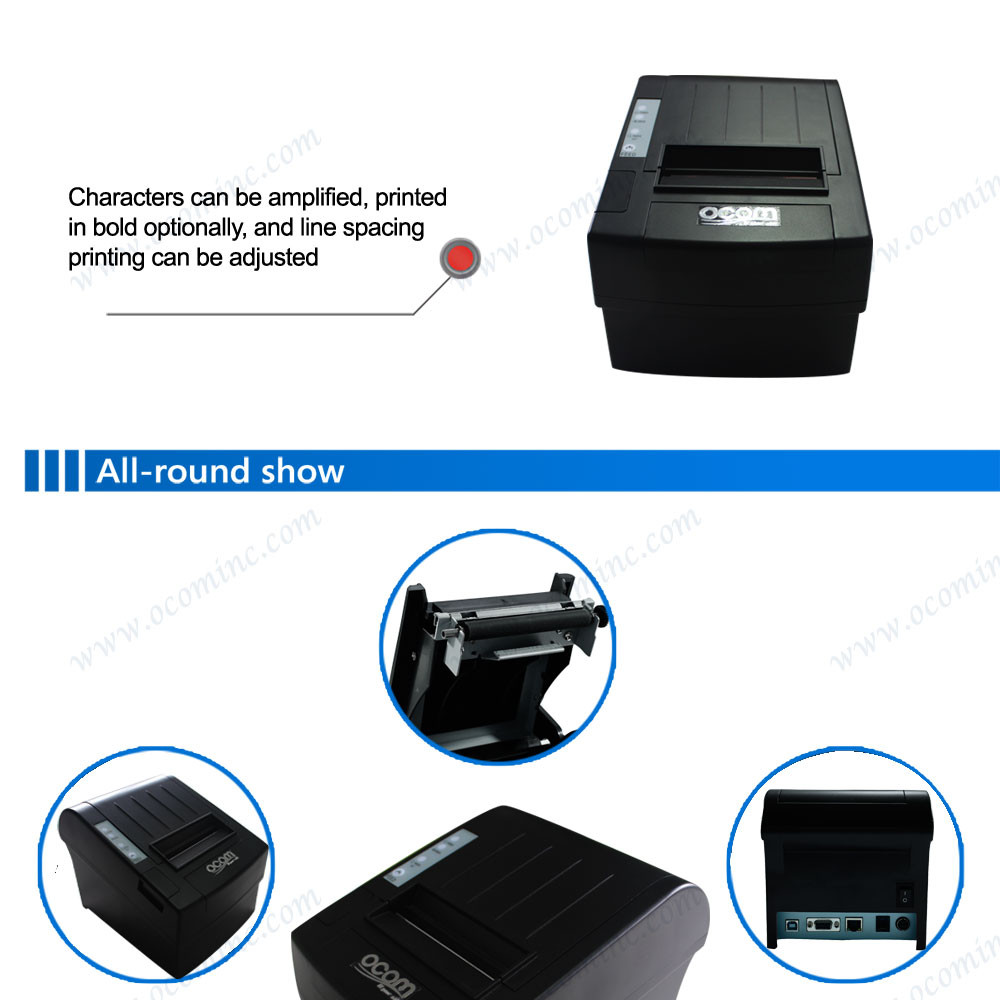 04 80mm thermal pos receipt printer with auto-cutter