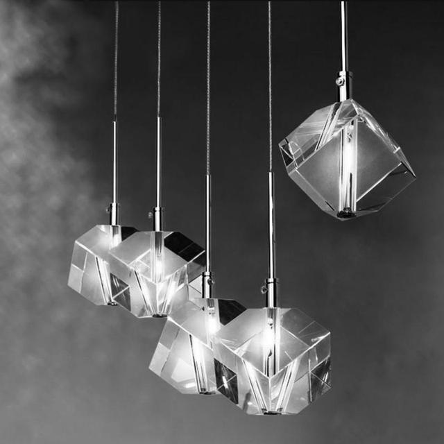 Perfect Raute Kristall Esszimmer Pendelleuchte Küche Beleuchtung Bar Kronleuchter