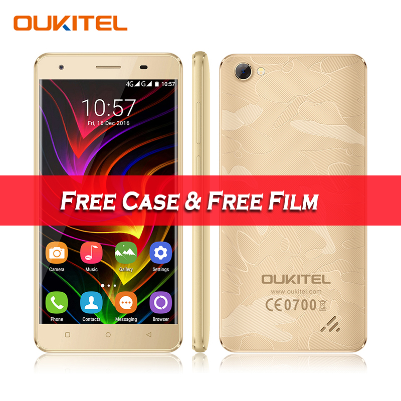 New Oukitel C5 3G WCDMA Android 7 0 Smartphone 5 0 HD MTK6580 Quad Core 2GB