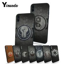 Yinuoda Star Wars Jedi Style TPU Soft Rubber Case Cover For Apple iphone 7 7plus X 8 8plus 6s 6 6plus 5 5s 5c