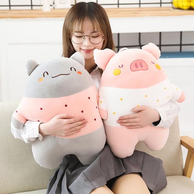 Kawaii Chubby Animal Plushies (50cm)
