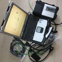 Mb star диагностический инструмент sd Подключение c5 с ноутбуком toughbook cf 30 сенсорный экран hdd 320 ГБ Полный комплект готов к использованию windows 7