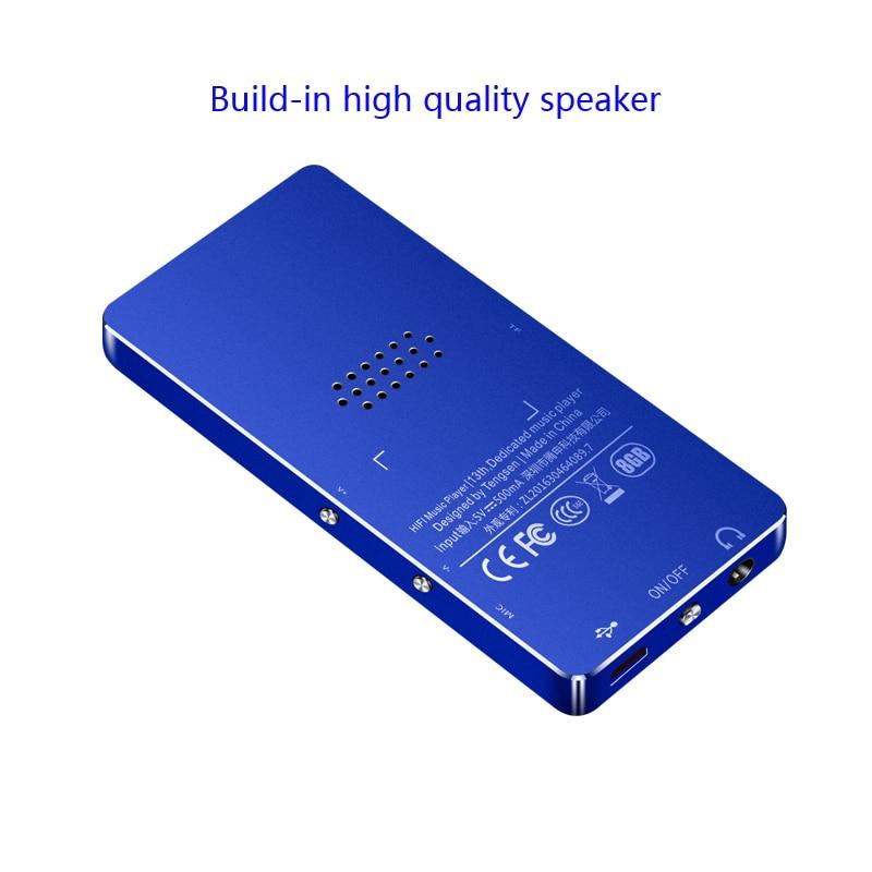 MP3-mängija IQQ X1 Mini kaasaskantav sport-raadio-videomuusika - Kaasaskantav audio ja video - Foto 5