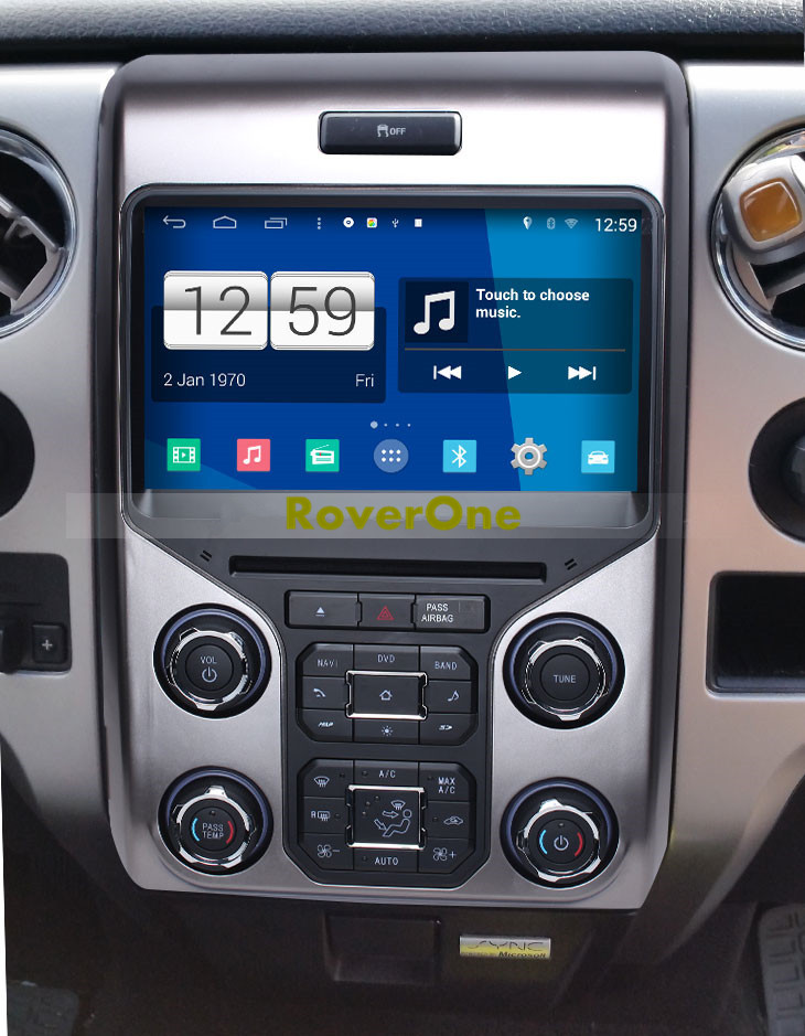 S Quad Core Android  Autoradio Gps Navi Multimedia Player For Ford F F