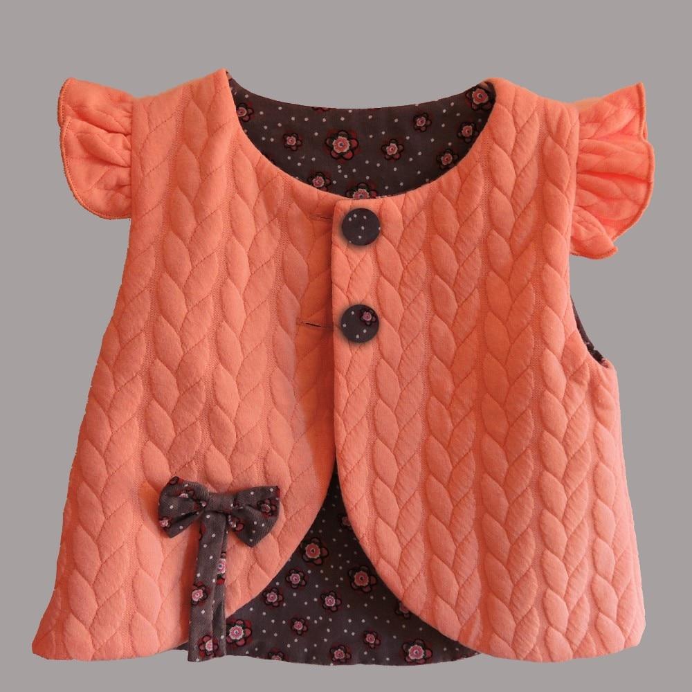 Yeni 2019 Bahar Baby Girl Pambıqlı paltarları qolsuz Gözəl - Uşaq geyimləri - Fotoqrafiya 2