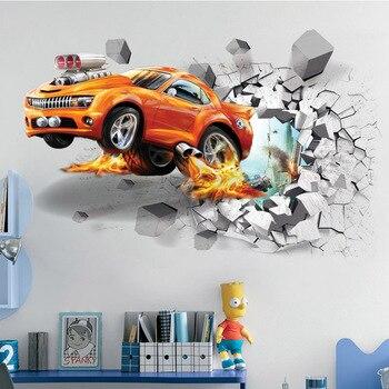 Broken Wall Car