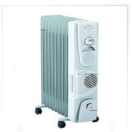 high quality electric heater 11 sections with fan portable heater