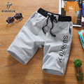 Casual Summer Men Shorts Elastic Fitness Short Pants Loose Mens Beach Shorts with Pockets Hip Hop Trousers Man