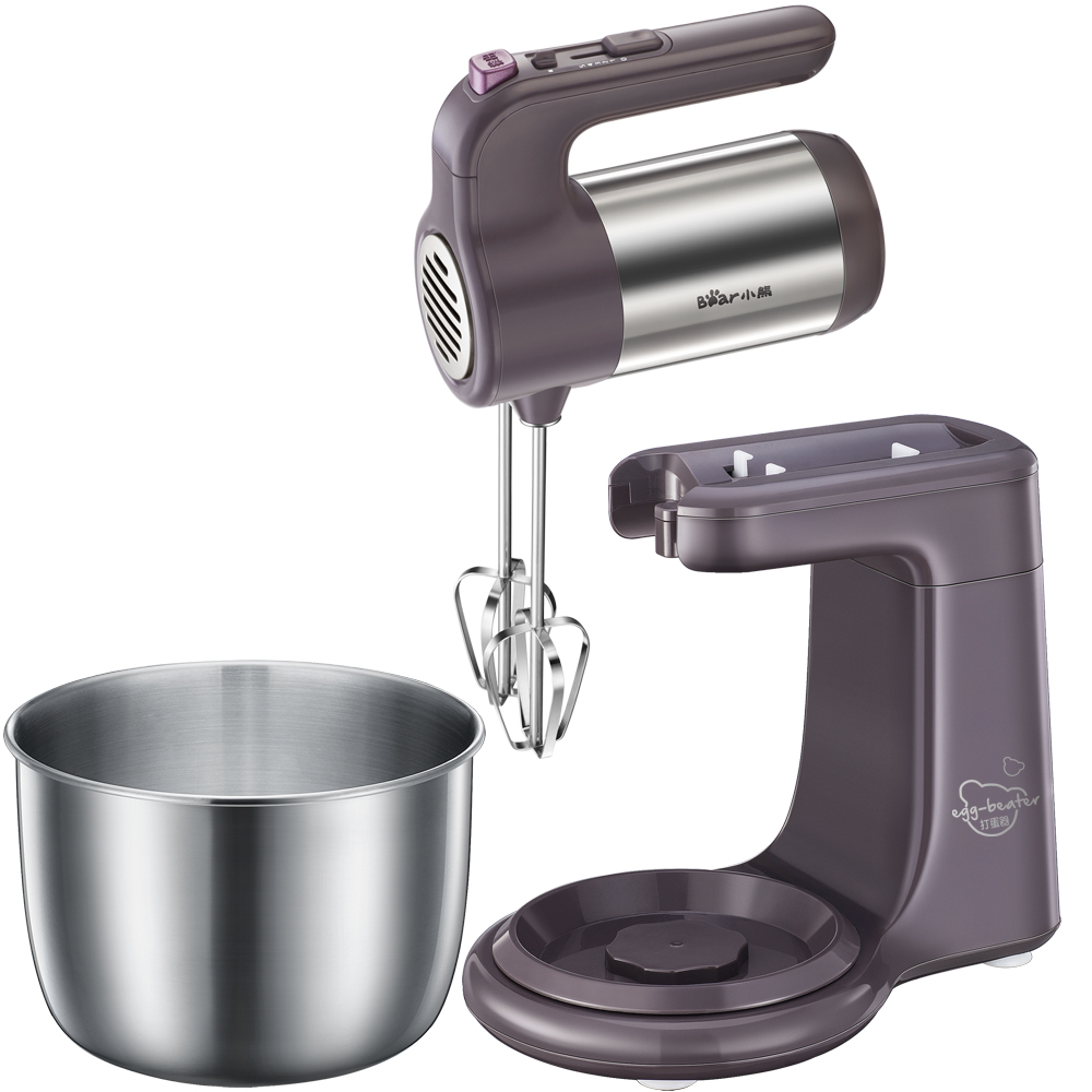 220V 4L Electric Dough Mixer Household Egg Beater With Mixing Bowl Egg Cake Cream Blender Beater For Baking Multifunction Mixer