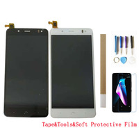 5.5'' For BQ Aquaris V Plus LCD Display With Touch Sensor Glass Digitizer Assembly Black White Color With Kits