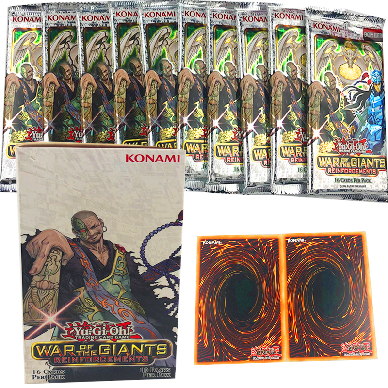 Yugioh - War Of The Giants Reinforcements - 1 Display (10 Booster) - Deutsch