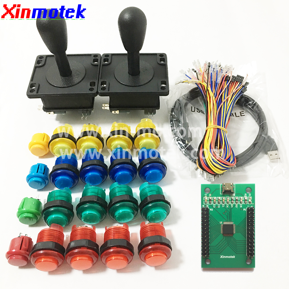 ⓪ Low price for kit arcade joystick and get free shipping