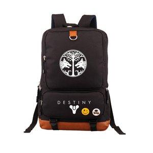 Image 4 - Hot Game Destiny iron Banner Backpack Black School Bags Bookbag Cosplay Gamer Kids Teens Shoulder Laptop Travel Bags Gift
