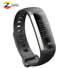 M2P Smart Fitness Bracelet Push Message 0 96 Inch Oled Wristband Blood Pressure Heart Rate Monitor