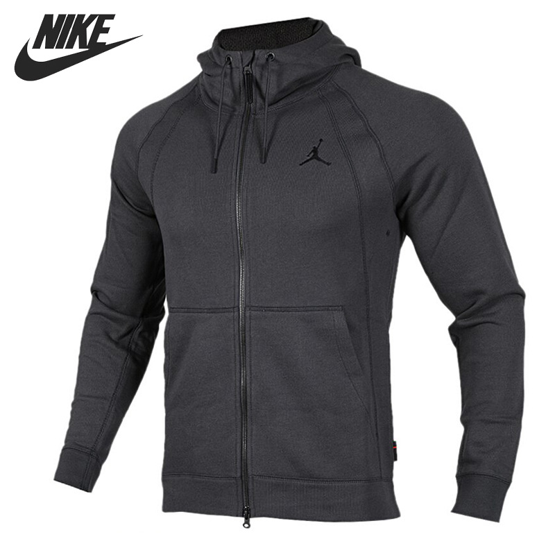 Original New Arrival  NIKE AS JSW WINGS FLEECE FZ Men's Jacket Hooded Sportswear