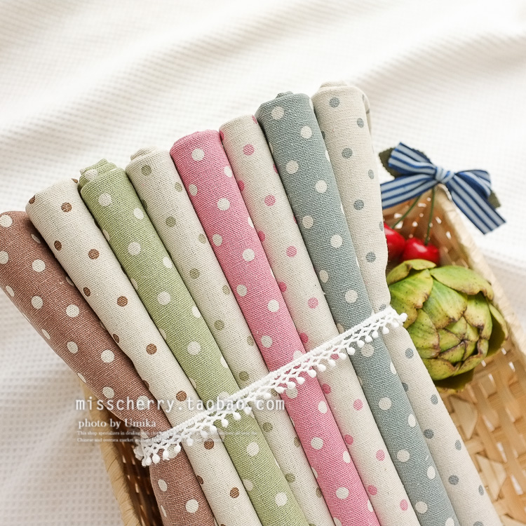 Ma054 thin linen cloth handmade clothes diy fabric