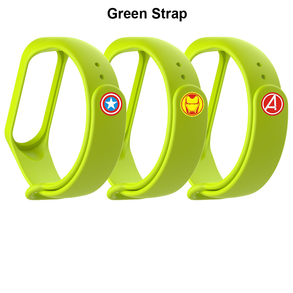 Mi Band 4 Strap Bracelet Screen Film Protector For Xiaomi Mi Band 4 Wristband Films Miband 4 Smart Wriststrap Silicone Straps in Smart Accessories from Consumer Electronics