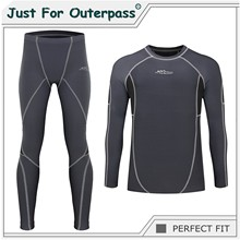 2019 New Autumn Winter Thermal Underwear For Men Quick Dry Elastic Compression Warm Long Johns Male Casual Thermo Underwear Set(China)