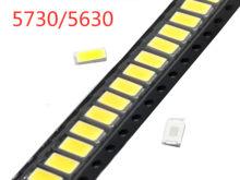 100 pcs SMD 5730 Diodi Bianco SMD5730 0.5 W HA CONDOTTO 5630 3000 K 4000 K 6000 k 9500 k Super circuito Integrato luminoso 150mA PCB SMT Emitting Diode