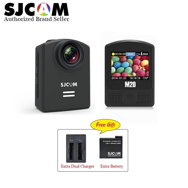 M20 original sjcam wifi mini dv acción deporte cámara 4 k 24fps ntk9666016mp rem