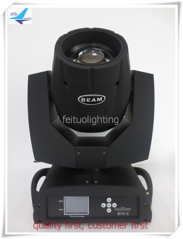 With Fly Case New 230W DMX Osram 7R Beam moving head light Sharpy beam touch screen with double prism 8+16